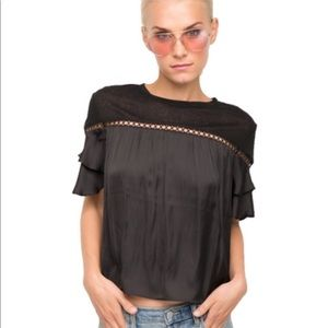 GENERATION LOVE NWT ADORABLE RUFFLE TOP